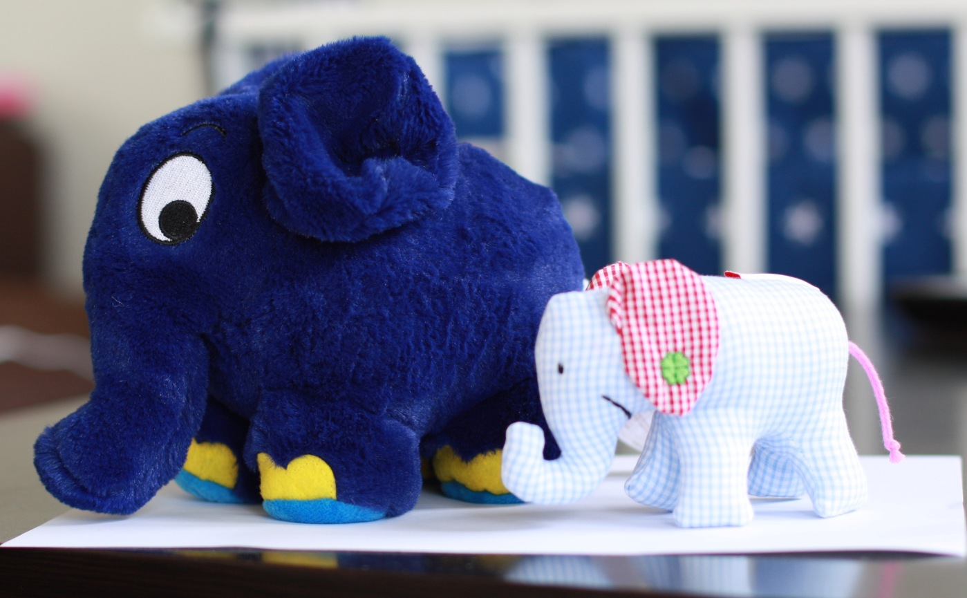 Lavendel-Elefant